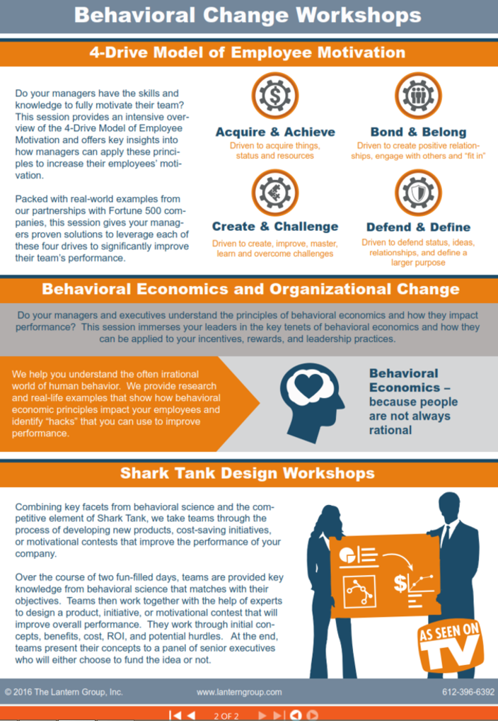 how to drive behaviour change using incentives